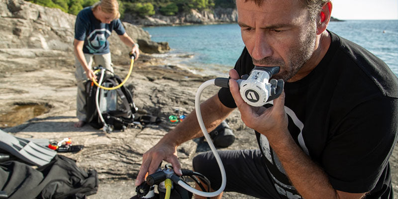 Check your gear before every dive and get it serviced annually