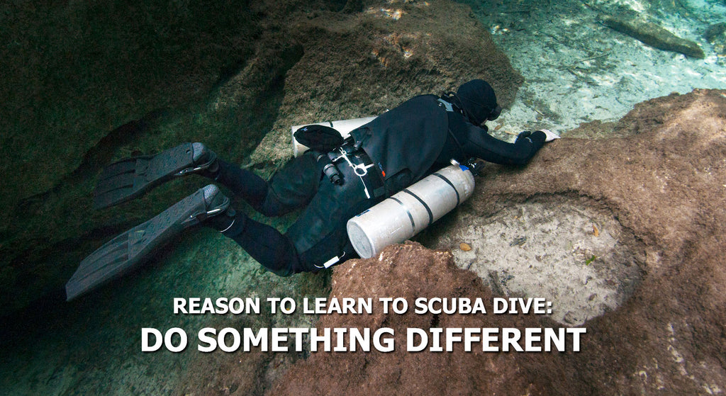 Reasons To Learn To Scuba Dive - Do Something Different