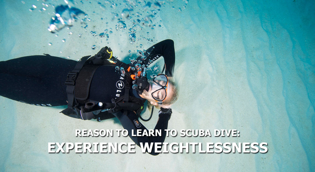 Reasons To Learn To Scuba Dive - Experience Weightlessness