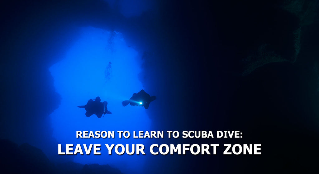 Reasons To Learn To Scuba Dive - Leave Your Comfort Zone