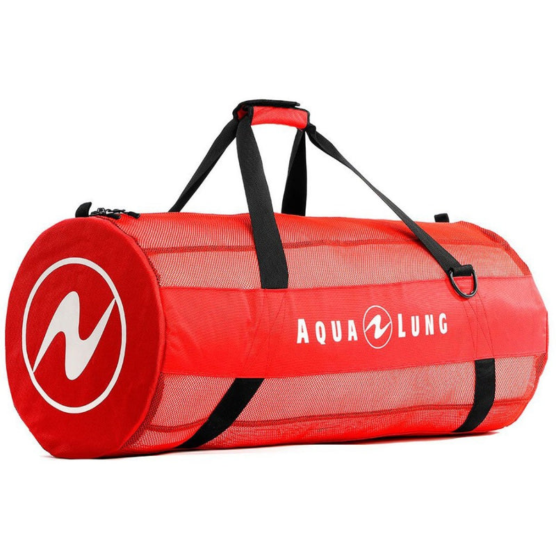 Aqua Lung Adventurer Mesh Duffle Bag Red | Scuba Leeds UK