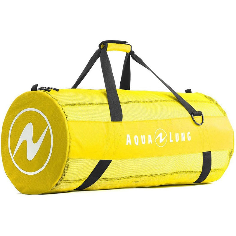 Aqua Lung Adventurer Mesh Duffle Bag Yellow | Scuba Leeds UK