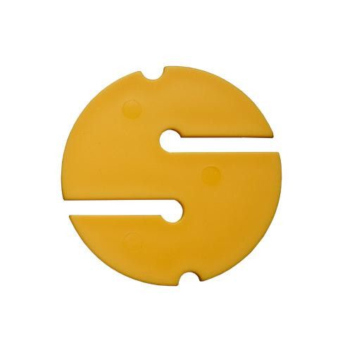 Nautilus Non Directional Cave marker 55mm Yellow 10pk | Scuba Leeds UK