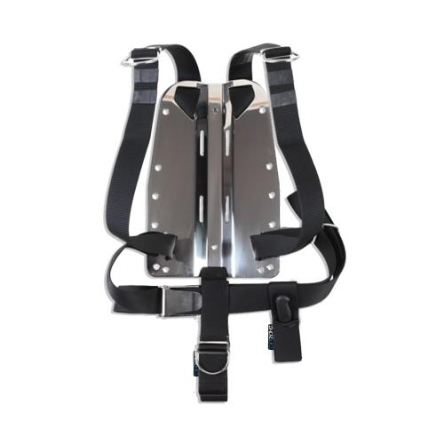 DIRZone Stainless Steel Backplate & One Piece Harness | Scuba Leeds UK