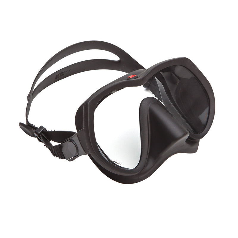 XS Scuba Crew Mask in Black Silicone | Scuba Leeds UK