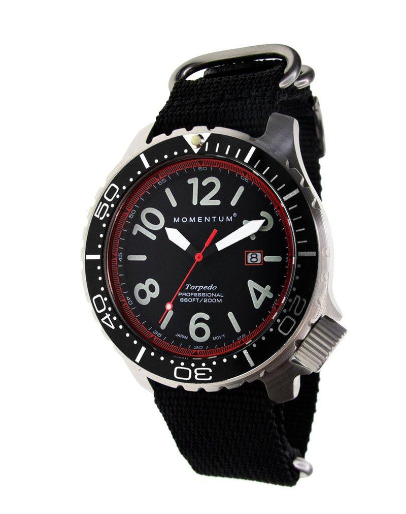 Momentum Torpedo Blast Red 44 with Nylon Strap | Scuba Leeds UK