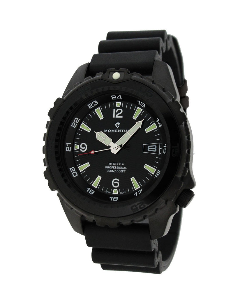 Momentum Deep 6 Night Vision with Black Hyper Strap | Scuba Leeds UK