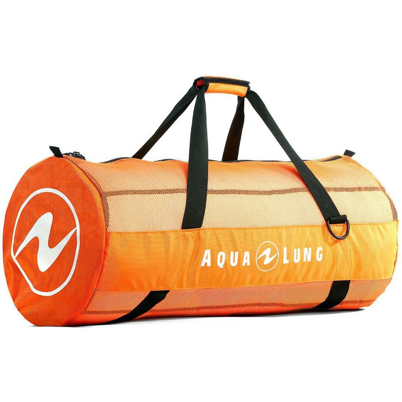 Aqua Lung Adventurer Mesh Duffle Bag Orange | Scuba Leeds UK