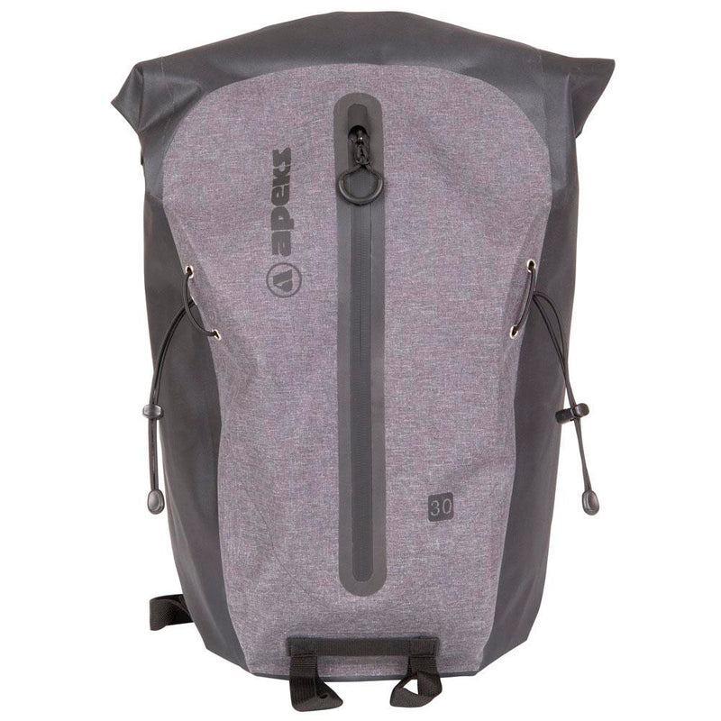 Apeks 30ltr Dry Rucksack from the front | Scuba Leeds UK