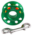 Apeks 30m LifeLine Spool in Green | Scuba Leeds UK