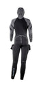 Apeks Thermiq 8/7 Womens Wetsuit Back | Scuba Leeds UK