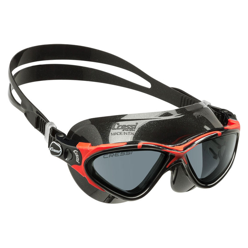 Cressi Planet Smoke Lens Swimming Goggles