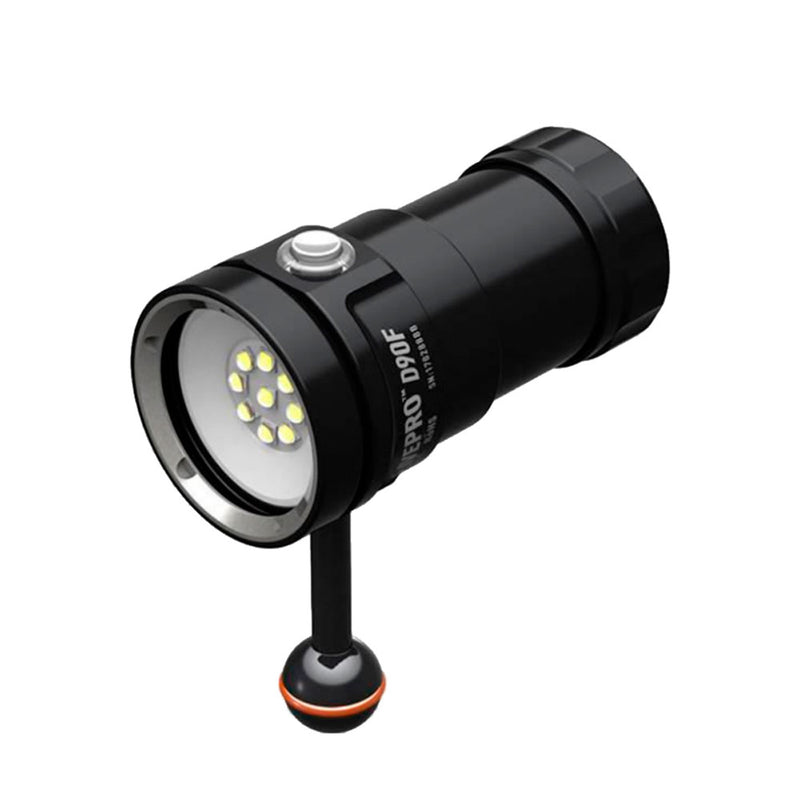 DivePro D90F Video Light | Scuba Leeds UK
