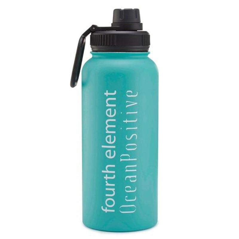 Fourth Element Gulper Insulated Water Bottle 900ml (Front)  | Scuba Leeds UK
