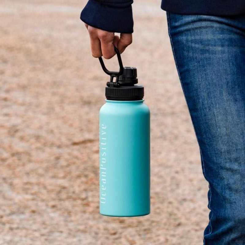 Fourth Element Gulper Insulated Water Bottle 900ml (Lifestyle 2) | Scuba Leeds UK