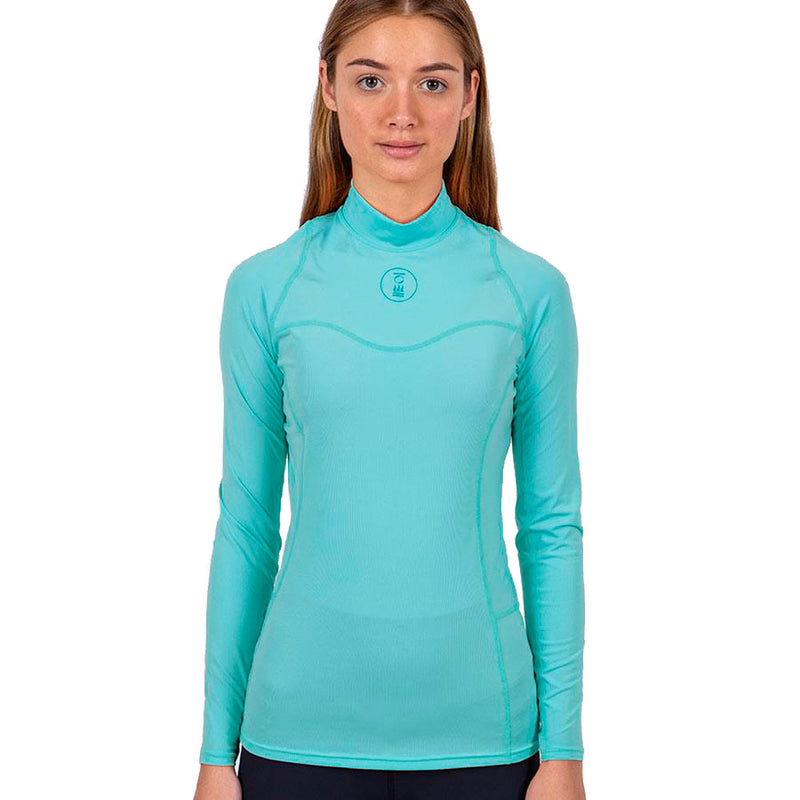 Fourth Element Hydroskin Long Sleeve Rashguard Women's in Turquoise (Front) | Scuba Leeds UK