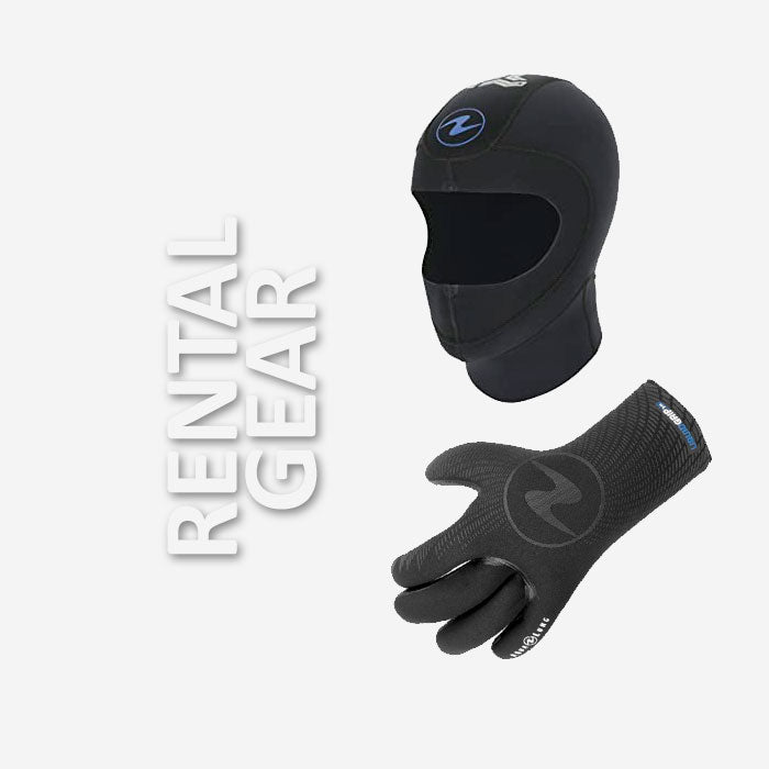Hood & Glove Rental | Scuba Leeds UK