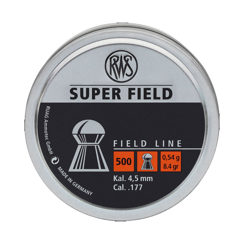RWS Super Field .177 Pellets | Scuba Leeds UK