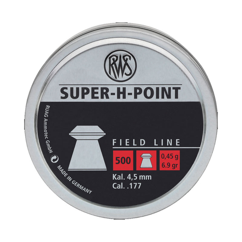 RWS Super H Point .177 Pellets | Scuba Leeds UK
