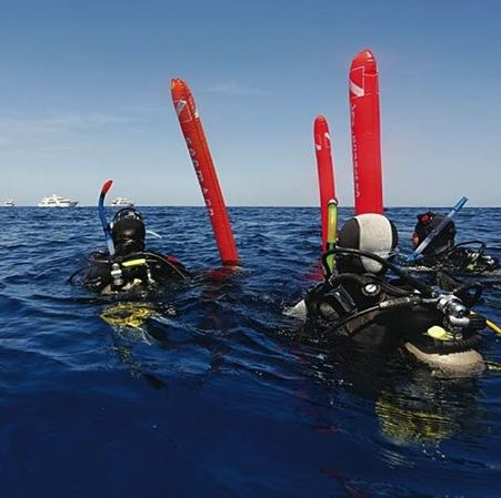 PADI Surface Marker Buoy Diver | Scuba Leeds UK