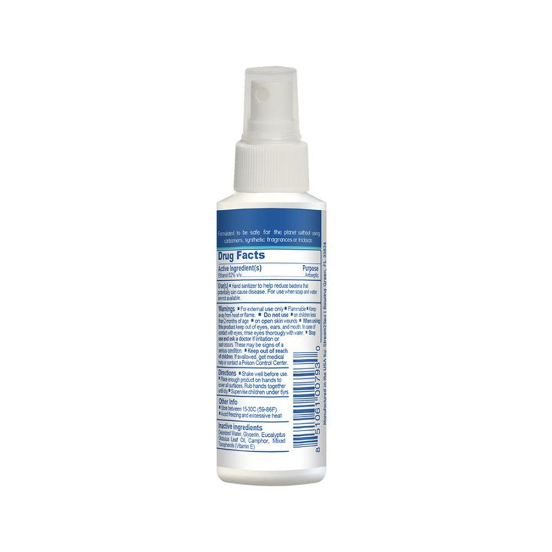 Stream2Sea Hand Sanitizer Spray 60ml (Rear) | Scuba Leeds UK