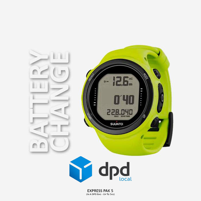 Suunto D4i Novo Battery Change | Scuba Leeds UK