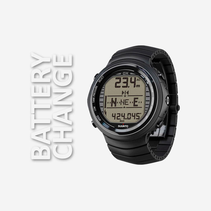 Suunto DX Battery Change | Scuba Leeds UK