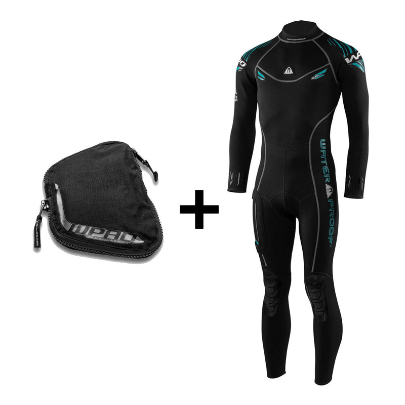 Waterproof W30 2.5mm Mens Wetsuit plus WPAD Pocket | Scuba Leeds UK