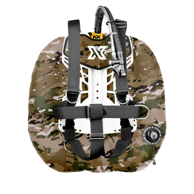 XDEEP NX Project Wing System in Camo | Scuba Leeds UK