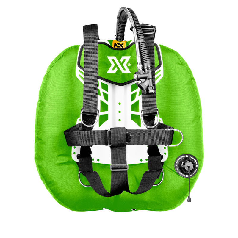 XDEEP NX Project Wing System in Lime | Scuba Leeds UK
