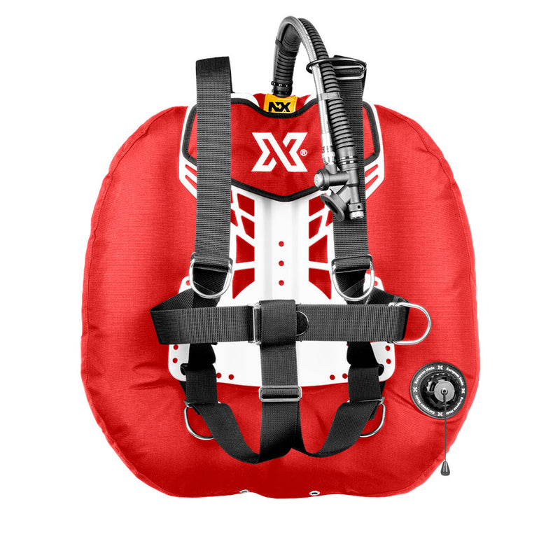 XDEEP NX Project Wing System in Red | Scuba Leeds UK