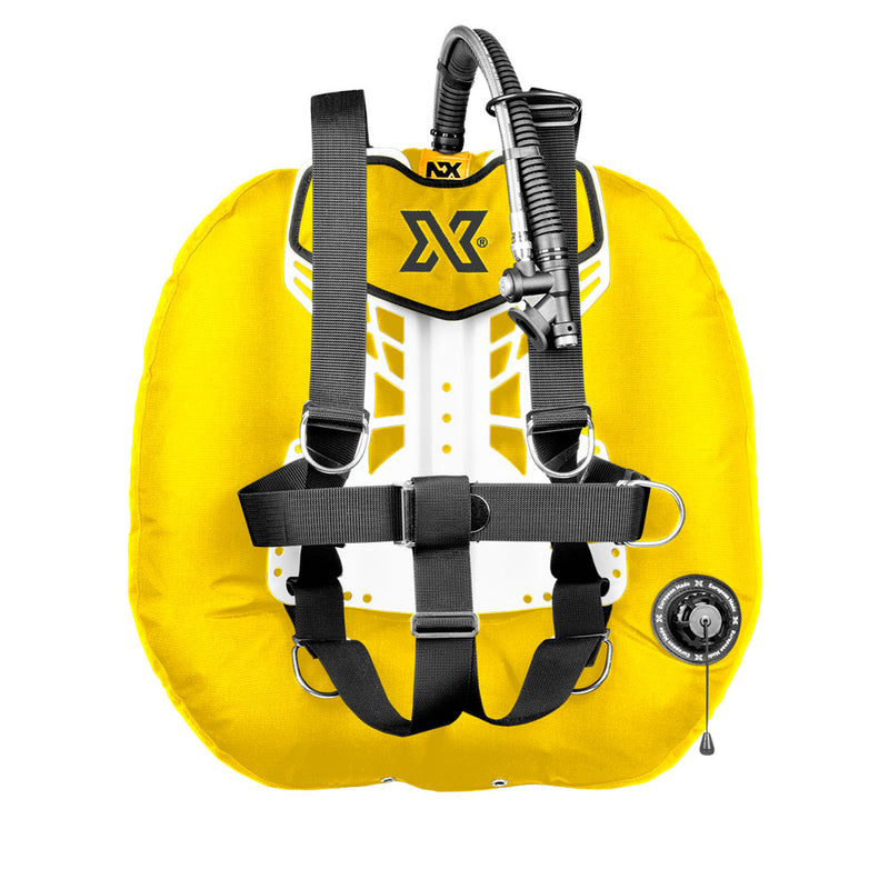 XDEEP NX Project Wing System in Yellow | Scuba Leeds UK
