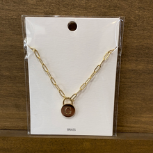 Load image into Gallery viewer, Lock It Up Necklace