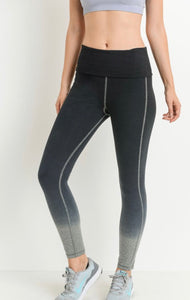 Athletic Ombré Legging