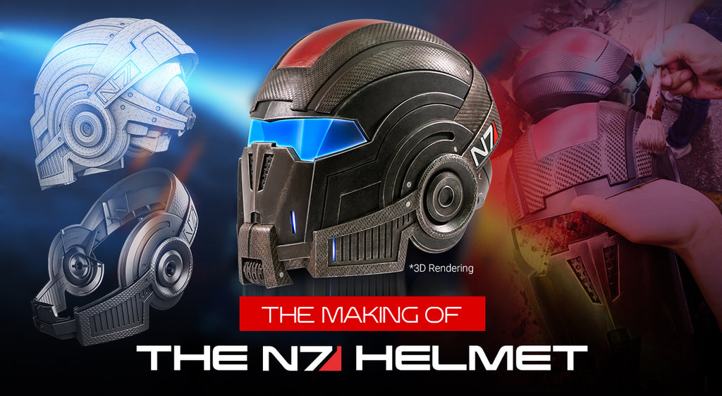 Making of the N7 Helmet