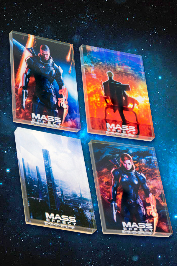 Mass Effect Magnet Set