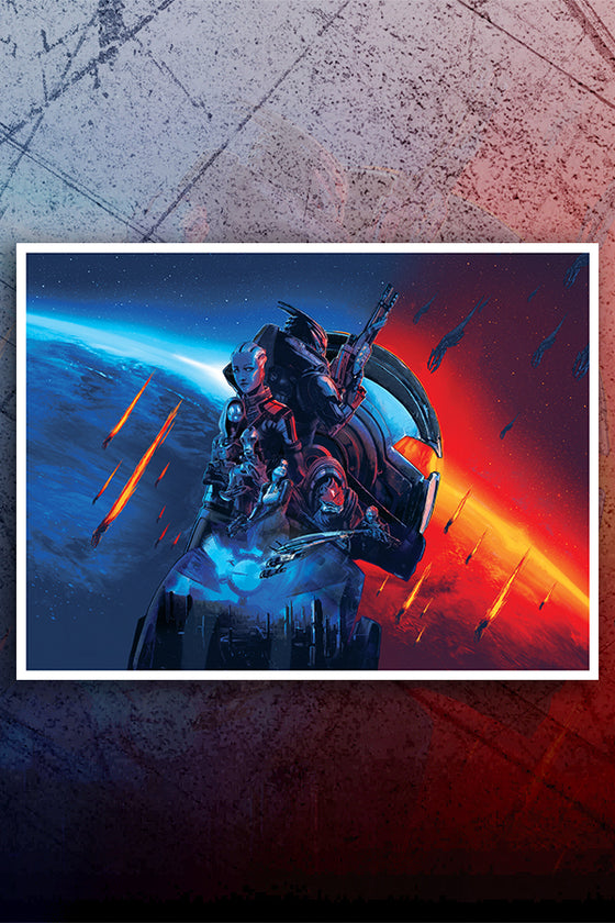 Mass Effect Legendary Edition Lithograph - Open Edition