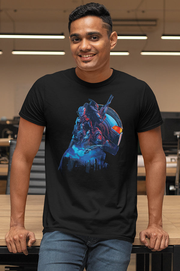 Mass Effect Legendary Helmet Tee