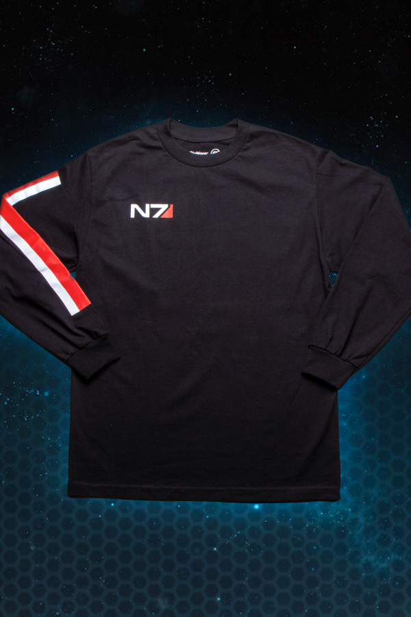 N7 Logo Long Sleeve Tee