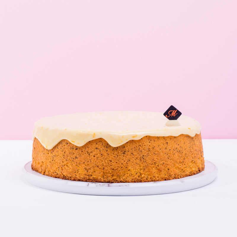 Orange Poppyseed Cake - CakeRush