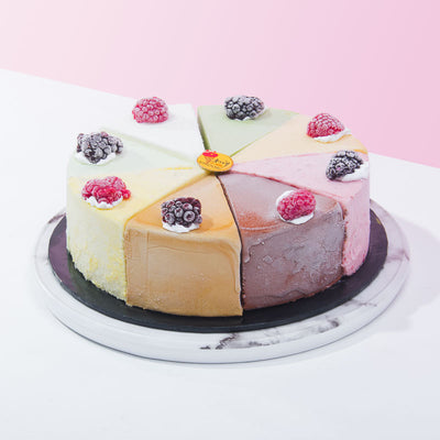 8 Sensations - Ice Cream Cake - CakeRush