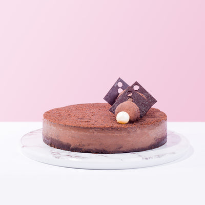 Chocolate Devil Cheese Cake - CakeRush