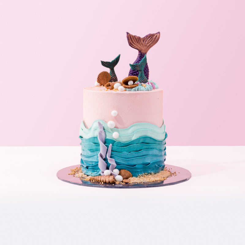Mermaid Wonders Cake - CakeRush