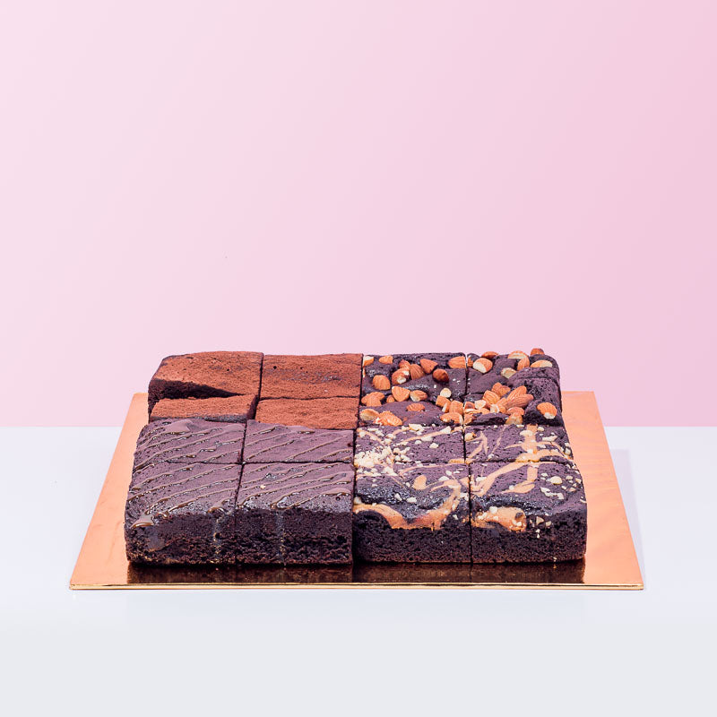 Best Of Four Brownies - CakeRush