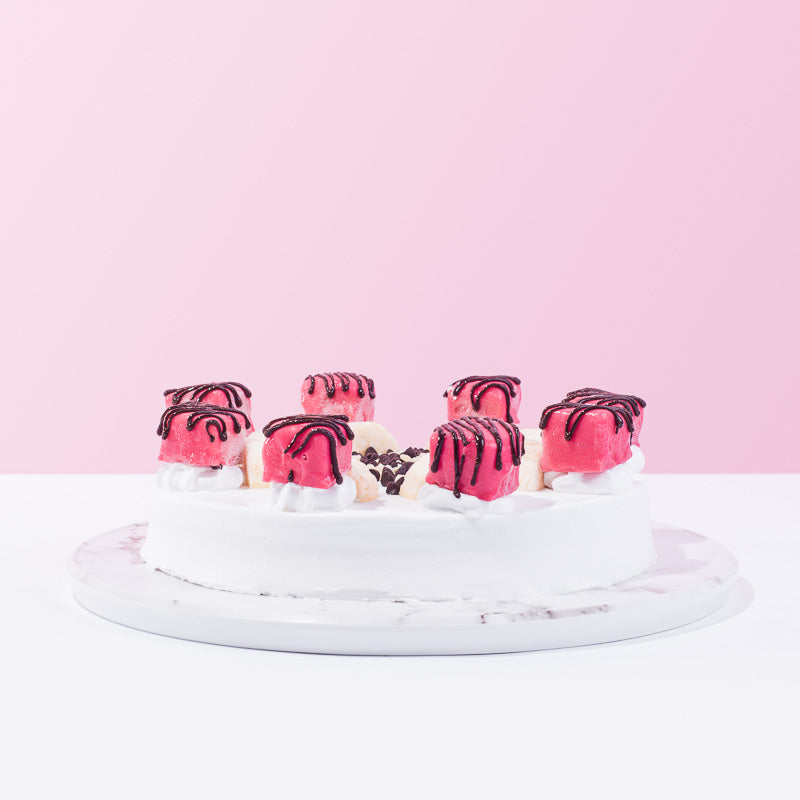 Banana Split Ice Cream Cake - CakeRush