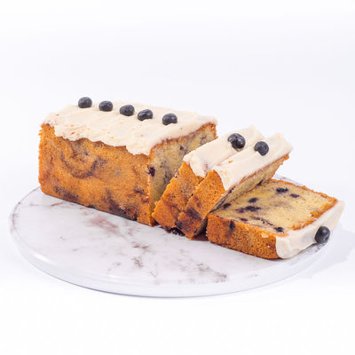 Blueberry Almond Loaf - CakeRush