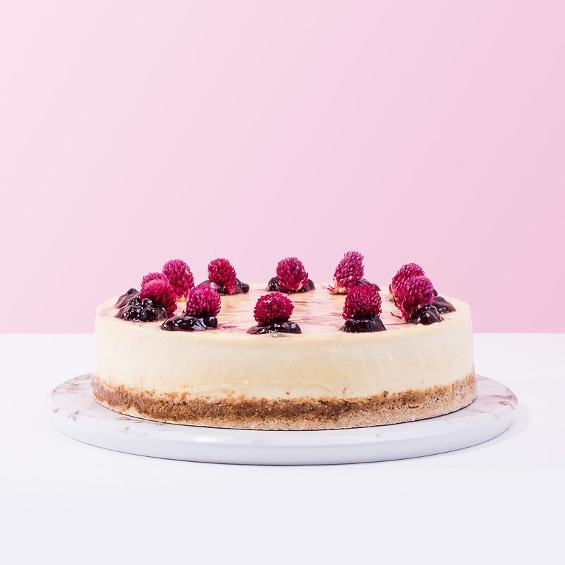 Phil's Bluberry Compote Cheese Cake - CakeRush