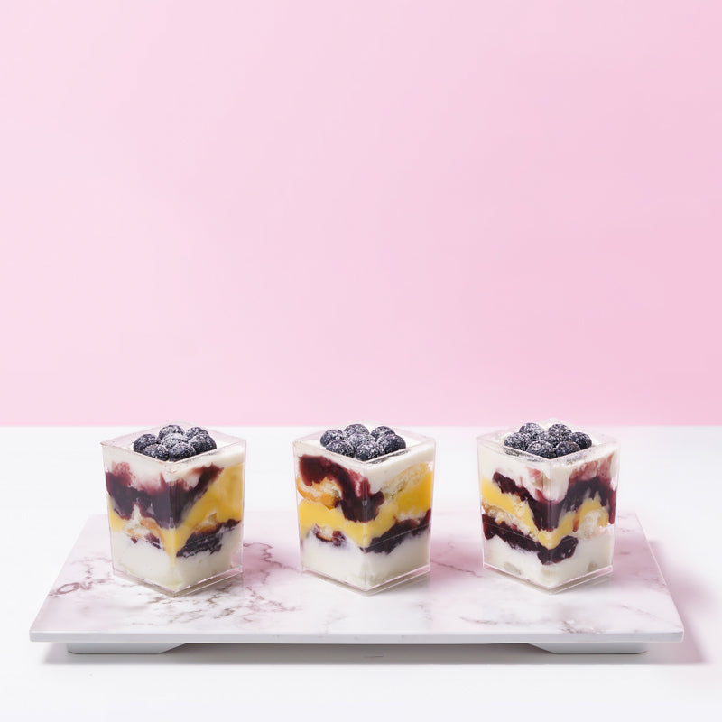 Blueberry Lemon Tiramisu (6 Pieces) - CakeRush