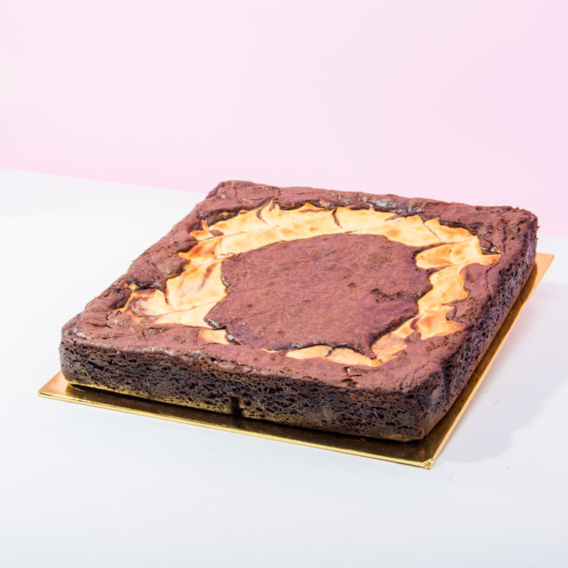 Gluten Free Brown Cow Brownies (12 Pieces) - CakeRush