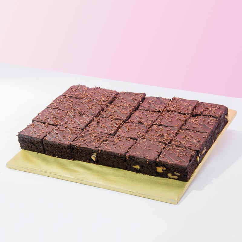 Fudge Brownies (12-24 Pieces) - CakeRush
